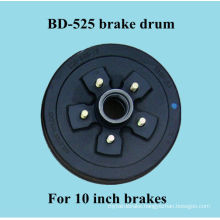 BD-545 brake drum for 10 inch caravan brakes